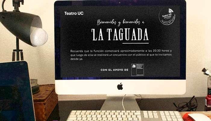 Noticia Charla Técnica La Taguada Teatro UC